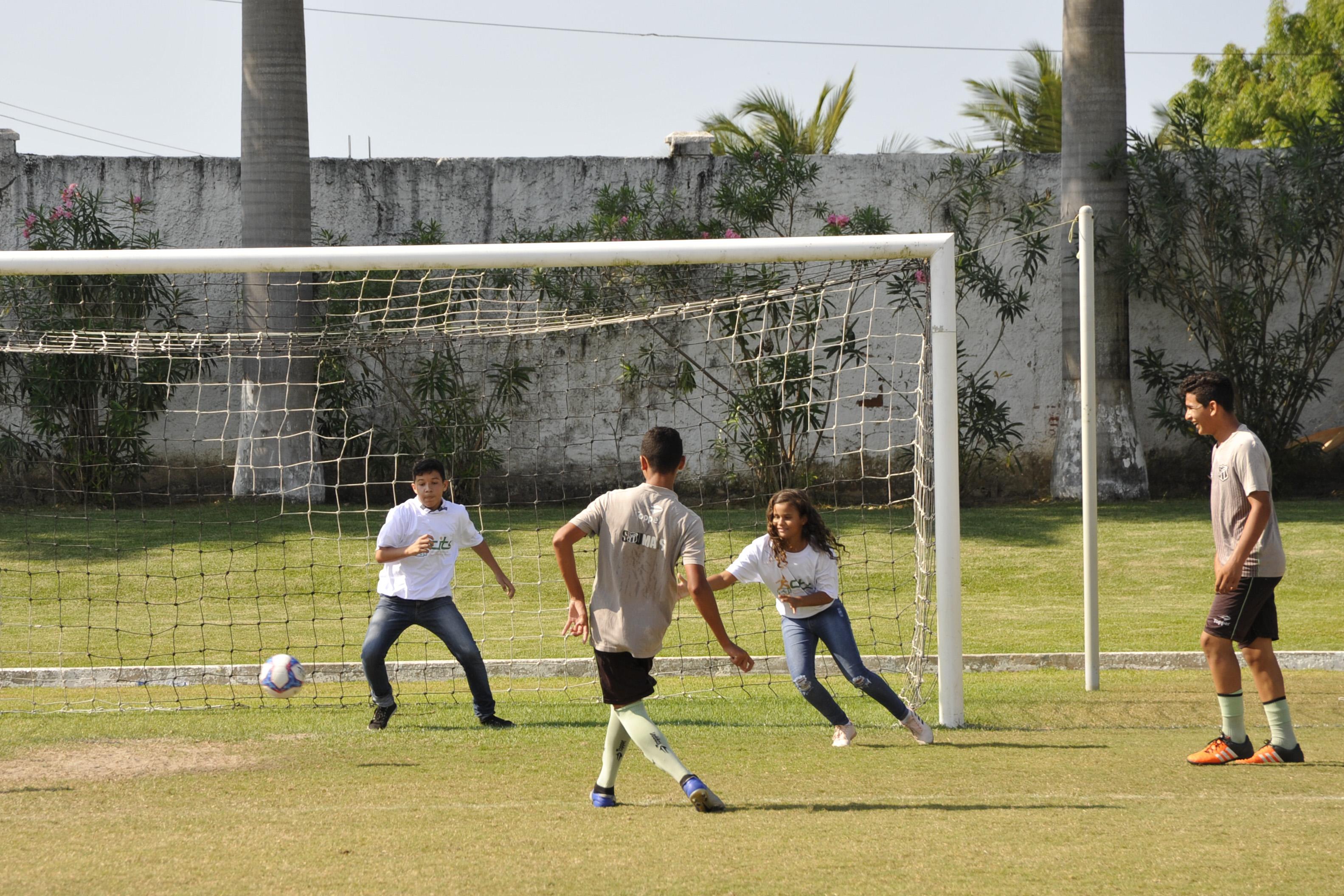 Centros de Inclusão Social ofertam vagas para atividades socioesportivas