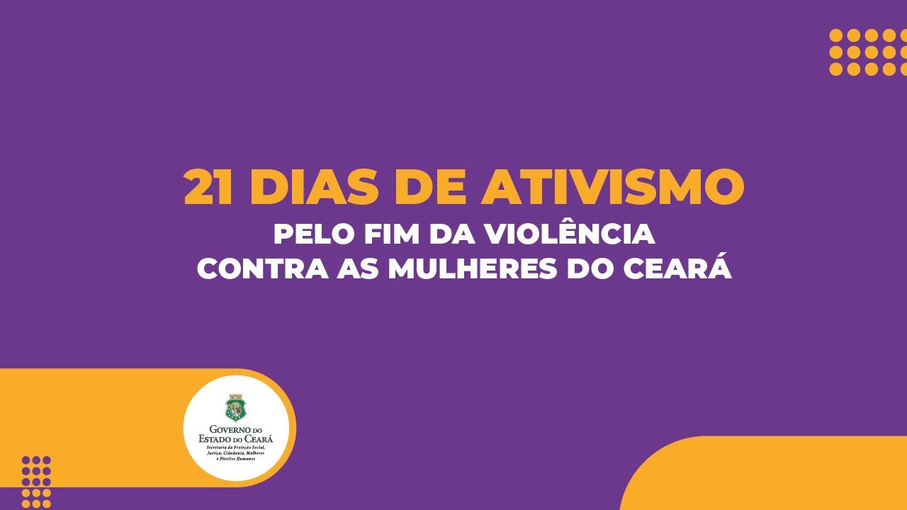 SPS  inicia programação de 21 dias de ativismo pelo fim da violência contra a mulher