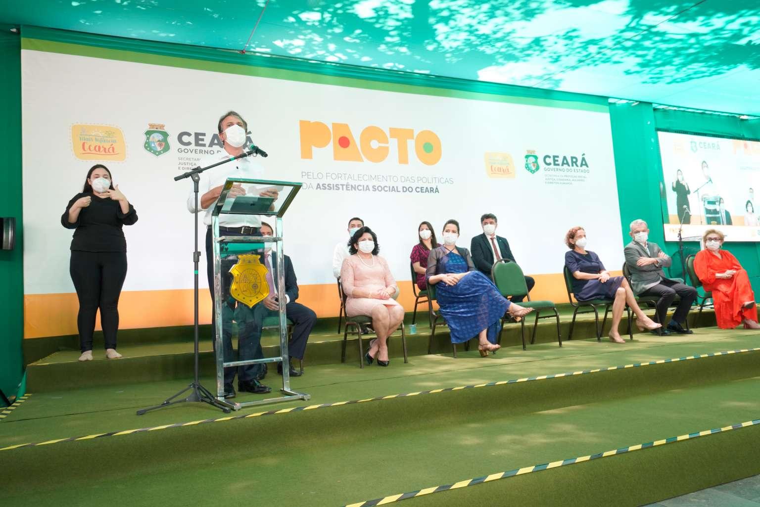 Com investimento superior a R$ 72 milhões, Pacto fortalece políticas da Assistência Social em todos os municípios cearenses